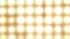 Bright led lights,gold Stock Footage