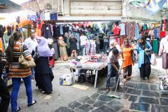 Medina in Tunisia - stock photo