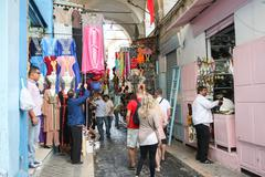 People in Medina - stock photo