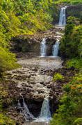 Umauma Falls Stock Photos