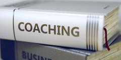 Coaching  - Book Title - stock illustration
