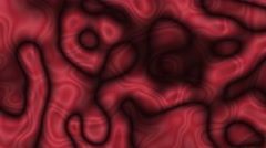 Curvey background loop red virus Stock Footage