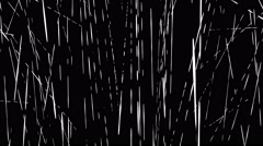 Creepy broken line abstract Halloween haunted background loop Stock Footage