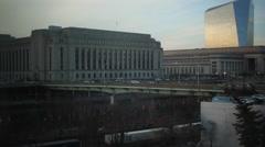 Philadelphia 30th Street Station Stock Footage