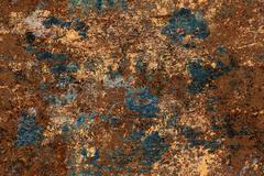 Seamless texture of old and rusty metal Stock Illustration