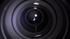Lens Aperture, Bokeh Stock Footage