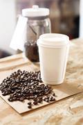Coffee to go. Stock Photos