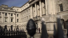 Somerset House, London Stock Footage