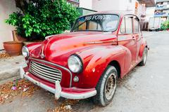 Morris Minor 1000 - stock photo