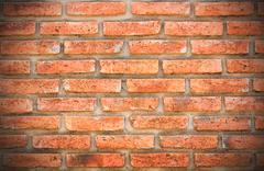 Hi res grunge brick wall and background - stock photo