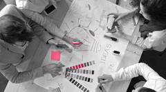 Creative Ideas Generation Process Stock Footage