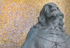 Statue of christ Stock Photos