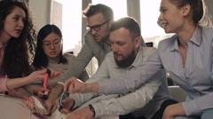 Team Arguing During Brainstorm Stock Footage