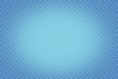 retro comic blue background raster gradient halftone - stock illustration
