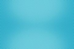 Retro comic blue background raster gradient halftone Stock Illustration