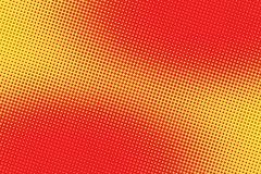 Retro comic red pink background raster gradient halftone Stock Illustration