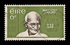 Mahatma gandhi Stock Photos