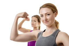 feeling strong today - stock photo