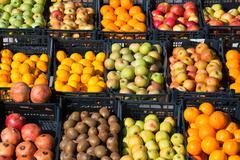 Fruit ,marketplace - stock photo