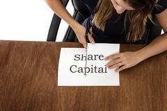 Cutting paper Stock Photos