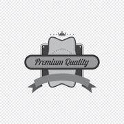 product label sticker - stock illustration