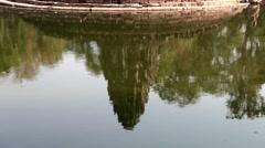 Neak Pean- religious architecture landmarks buildings complex near Siem Reap Stock Footage