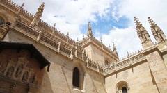 Royal Chapel of Cathedral of Granda Stock Footage