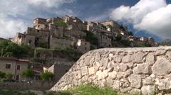 Medieval Castle of Prata Sannita, Caserta, Italy Stock Footage