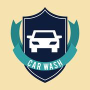 Car wash  design Piirros