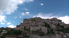Prata Sannita, a small town in the province of Caserta, Italy Stock Footage