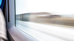 Traveling by Train - stock footage