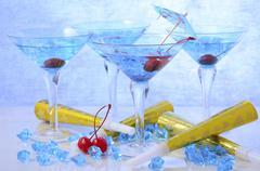 New Year Party Drinks Kuvituskuvat