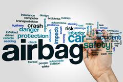 Airbag word cloud Stock Photos