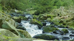 Water Flowing River Stock Footage