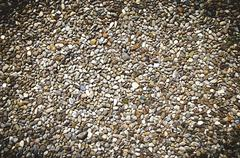 rustic cobbled background - stock photo