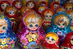 Russian souvenirs Stock Photos