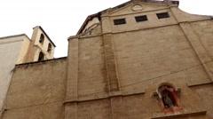 Sant Antoni de Viana Church, Palma de Mallorca - stock footage