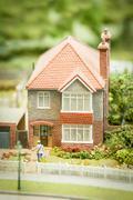 British suburbia Stock Photos
