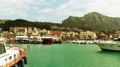Port de Solle, Mallorca, Balearic Islands, Spain - stock footage