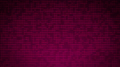 Mosaic background. Pink color seamless loopable animation. Stock Footage