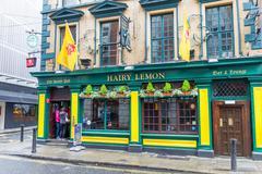 Pub in the Temple Bar area, Dublin, Ireland - stock photo