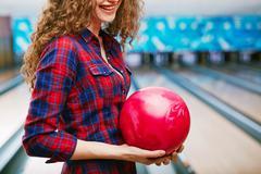 Bowling champion - stock photo