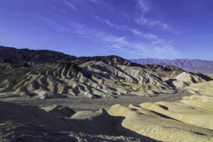 5K 3axis MoCo Time Lapse of Zabriskie Point in Death Valley  Stock Footage