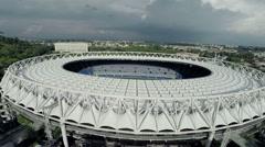 Stadio Olimpico. Olympic stadium, Rome. Del Debbio - Moretti (1927) Stock Footage