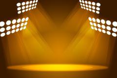 Abstract light yellow background - stock illustration