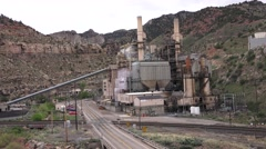 Jobs lost, UTAH, COAL COUNTRY Stock Footage