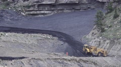 Coal movers,UTAH, COAL COUNTRY Stock Footage