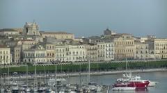 Ortigia Island | Siracusa - Sicily Stock Footage