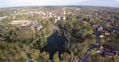Cesis city, Latvia. Stock Footage