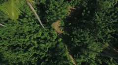 Aerial view of the bay Stock Footage